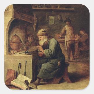An Alchemist Square Stickers