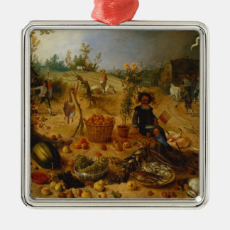 An Allegory of Autumn Christmas Ornament