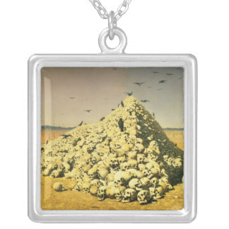 An Allegory of the 1871 War, 1871 Silver Plated Necklace