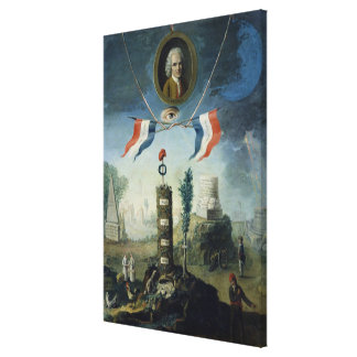 An Allegory of the Revolution Canvas Print