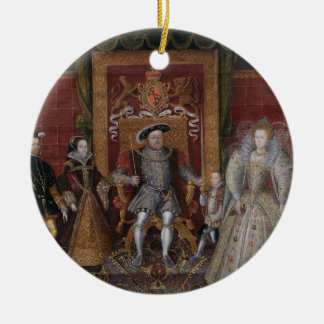 An Allegory of the Tudor Succession: The Family of Christmas Ornament