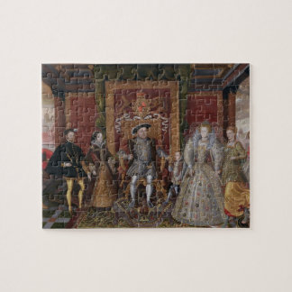 An Allegory of the Tudor Succession: The Family of Jigsaw Puzzle