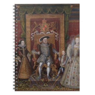 An Allegory of the Tudor Succession: The Family of Spiral Notebooks