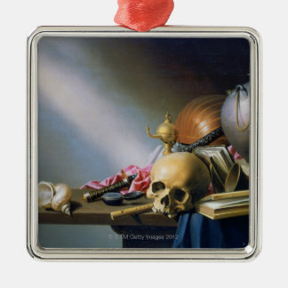 An Allegory of the Vanities of Human Life Christmas Ornament