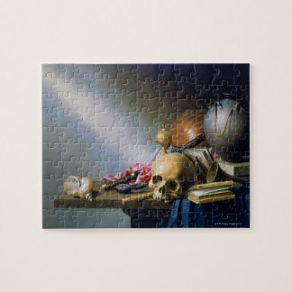 An Allegory of the Vanities of Human Life Jigsaw Puzzle