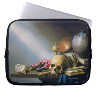 An Allegory of the Vanities of Human Life Laptop Sleeve