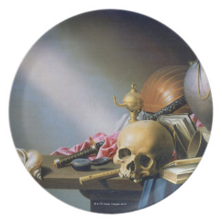 An Allegory of the Vanities of Human Life Plate