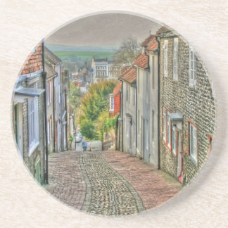 An Alley in Lewes Beverage Coaster