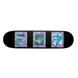 An Alternate Universe Skateboard Deck
