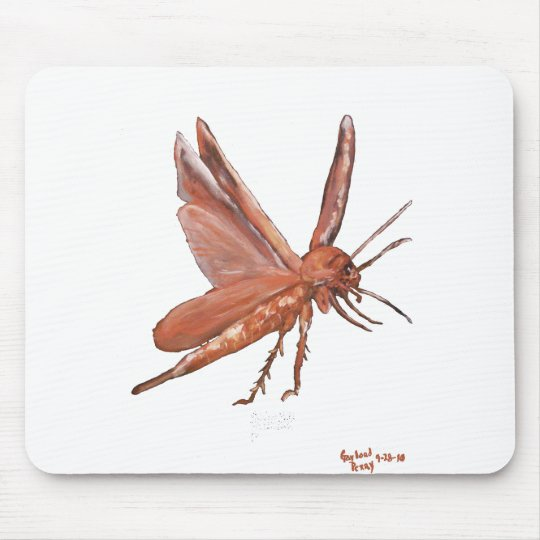 """An American Cockroach"" Mousepad"
