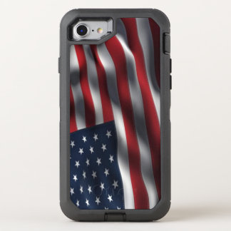 An American Flag USA OtterBox Defender iPhone 7 Case