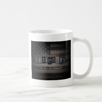 An American Movement Basic White Mug