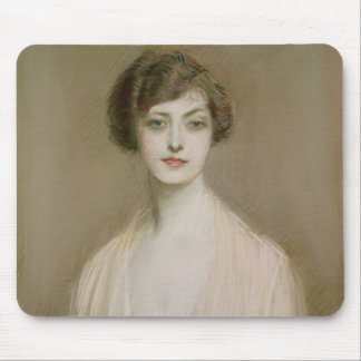 An American (pastel on canvas) Mouse Mat