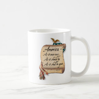 """An American Toast"" Coffee Mug. Coffee Mug"