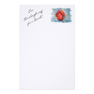 An analog letter for you! stationery