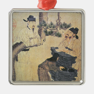 An Ancient Chinese Poet Christmas Ornament