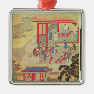 An Ancient Chinese Public Examination Christmas Ornament