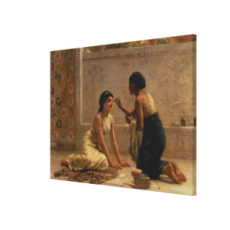 An Ancient Custom Canvas Print