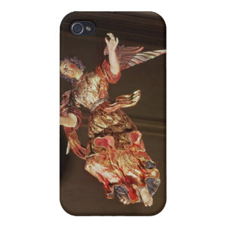An angel above the altarpiece iPhone 4 cover