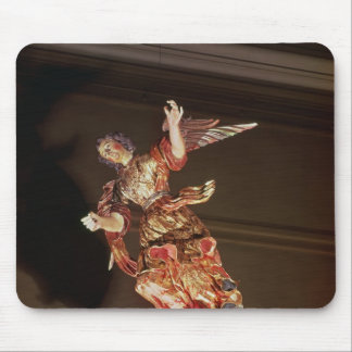 An angel above the altarpiece mouse mat