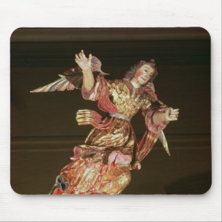 An angel above the altarpiece mouse pad