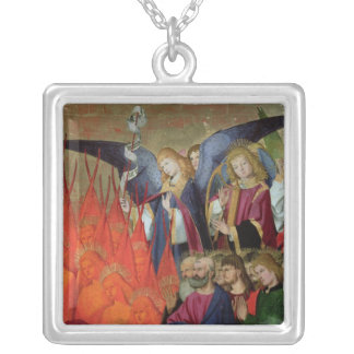 An Angel, from the 'Coronation of the Virgin' Silver Plated Necklace