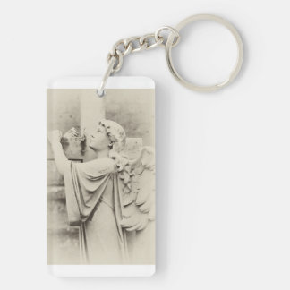 An Angel Headstone Key Ring