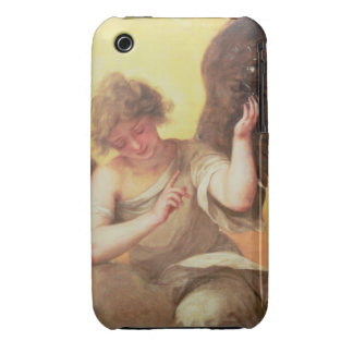An Angel holding a Glass Flask Case-Mate iPhone 3 Case