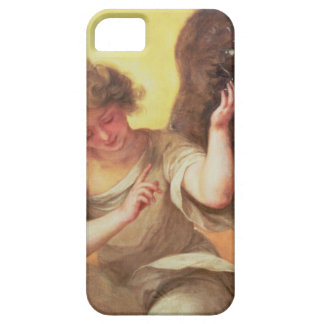 An Angel holding a Glass Flask iPhone 5 Case