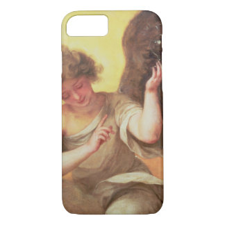 An Angel holding a Glass Flask iPhone 8/7 Case