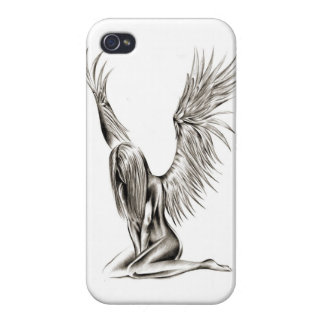 An Angel iPhone 4/4S Case