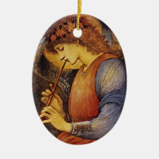An Angel Playing the Flute - Ornament