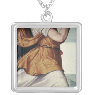 An Angel Silver Plated Necklace