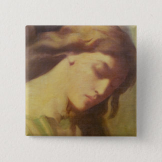 An Angel, study for the Mount of Olives, 1840 15 Cm Square Badge