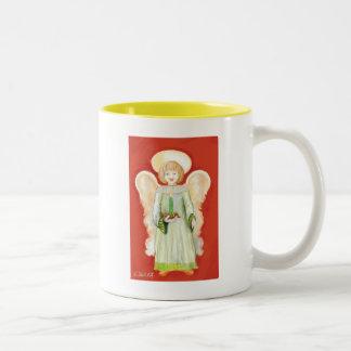An Angel Two-Tone Coffee Mug