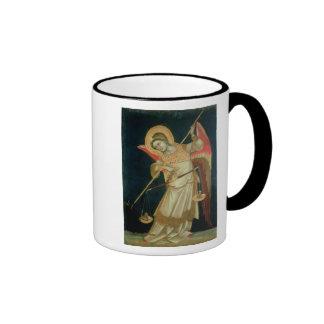 An Angel Weighing a Soul, c.1348-55 Mugs