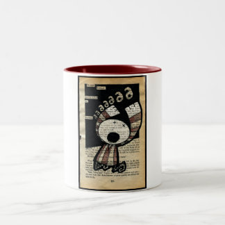 An Angry Silence… The Biscuit Barrel Two-Tone Mug
