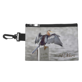 An Anhinga Drying Their Wings Out Accessories Bags