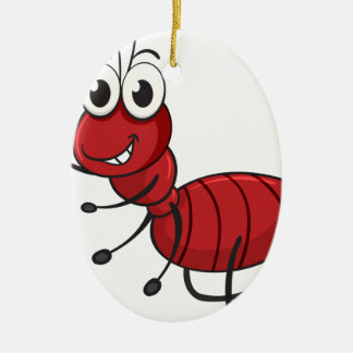 an ant christmas ornament