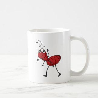 an ant coffee mug