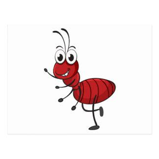 an ant postcard