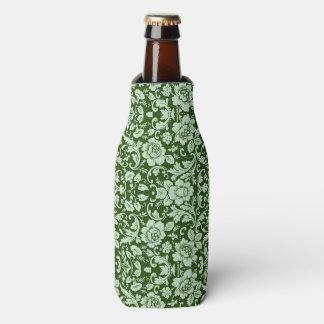 An antique floral damask bottle cooler