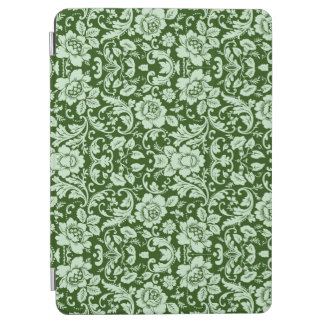 An antique floral damask iPad air cover