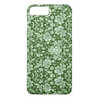 An antique floral damask iPhone 8 plus/7 plus case