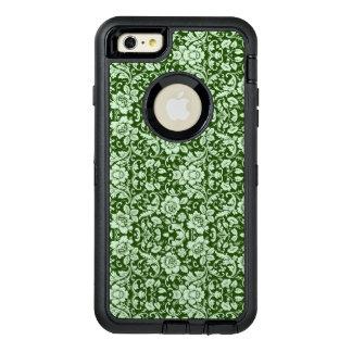 An antique floral damask OtterBox defender iPhone case