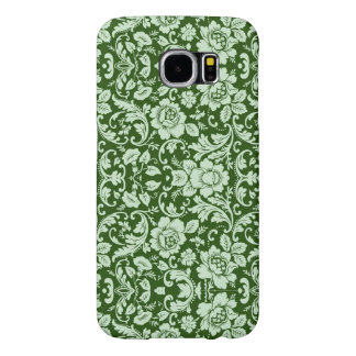 An antique floral damask samsung galaxy s6 cases