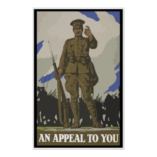 An Appeal To You -- Border Poster