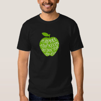 An apple a day keeps the doctor away shirts
