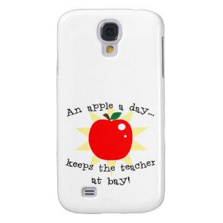 An apple a day keeps the teacher at bay galaxy s4 case