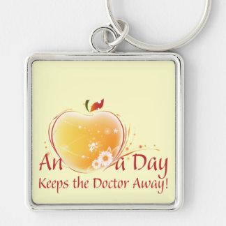 An Apple a Day Keychain